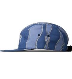 Raised by Wolves Blue Sailor's Knot Algonquin 5-Panel Cap Model Picutre