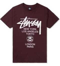 Stussy Wine World Tour T-Shirt Picture