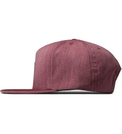 HUF Red Japanese Speckle Volley Cap Model Picture