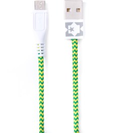 Eastern Collective Green/Yellow Fluorescent Micro USB Collective Cable Picutre