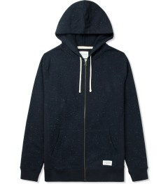 SATURDAYS Surf NYC Black JP Zip-up Hoodie Picutre