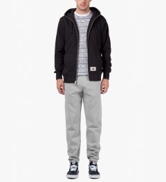 Carhartt WORK IN PROGRESS Heather Grey Chase Sweatpants Model Picutre