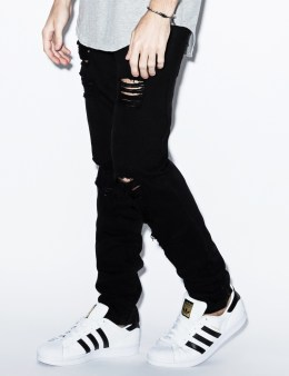STAMPD Black Distressed Essential Denim Picture