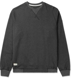 Marshall Artist Charcoal Melange Isometric Sweater Picutre