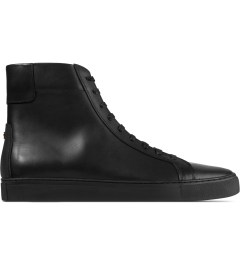 Thorocraft Black Logan High Top Sneakers Picutre