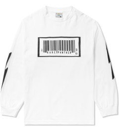Rare Panther White RP Barcode L/S T-Shirt Picutre