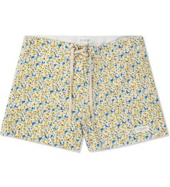 SATURDAYS Surf NYC White Floral Print Trunk Picture