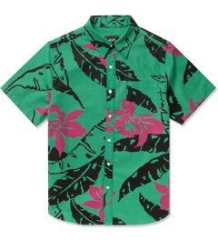 HUF Teal Copacabana S/S Woven Shirt Picture