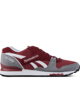 Reebok Flash Red/Flat Grey/White M46407 GL 6000 Shoes Picture