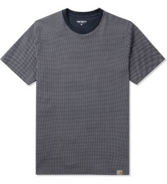 Carhartt WORK IN PROGRESS Blue/White Kruger Dots Charly T-Shirt Picutre