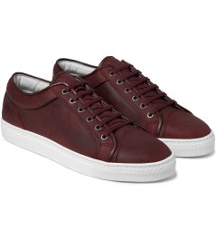ETQ Maroon Low Top 1 Sneakers Model Picture