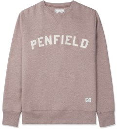 Penfield Russet Melange Brookport Crewneck Sweater Picture