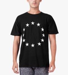 Études Studio Black Star Powder Slim T-Shirt Model Picutre