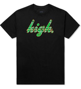 Odd Future Black High Plaid T-Shirt Picture