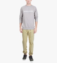 Soulland Beige PF14 Bomholt Pants Model Picture