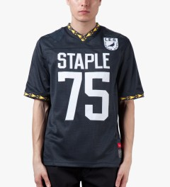 Staple Navy Franchise Jersey Model Picutre