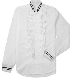 FACETASM White Stadium Frill Shirt Picture