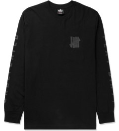 Undefeated Black Official L/S T-Shirt Picture