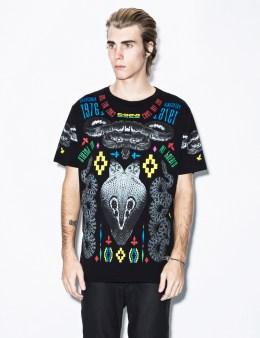 MARCELO BURLON Black Patagonian T-Shirt Picture