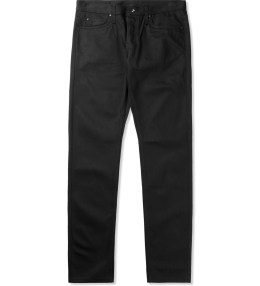 The Unbranded Brand UB155 Black Skinny Fit Jeans Picture