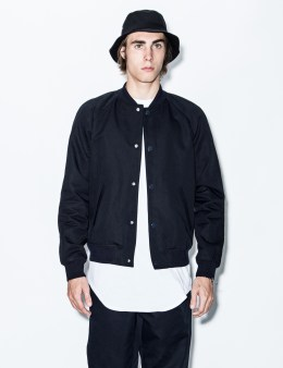 A.P.C. Dary Navy Kenickie Teddy Jacket Picture