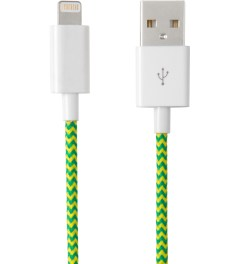 Eastern Collective Green Yellow Fluorescent Lightning Collective Cable Picture