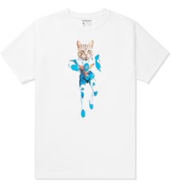 Odd Future White Mellowhype Ultra Cat T-Shirt Picture