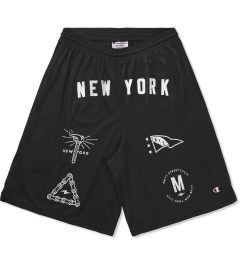Mott Street Cycles Black New York Shorts Picture