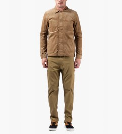 Carhartt WORK IN PROGRESS Hamilton Brown Single Knee Pants II Model Picutre