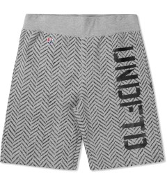 Undefeated Heather Grey HB Sweatshorts Picutre