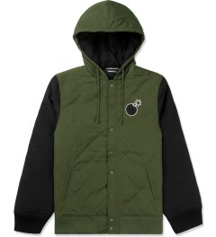 The Hundreds Olive Tour Jacket Picutre