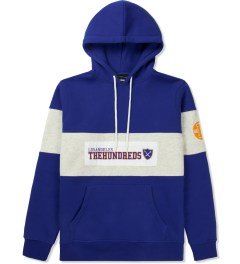 The Hundreds Blue Base Pullover Hooded Sweater Picture