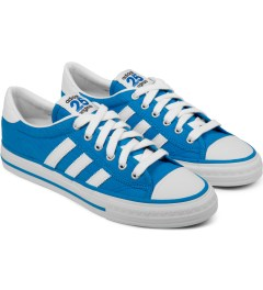 adidas Originals adidas Originals by NIGO Blue Shooting Star Low Top Sneakers Model Picture
