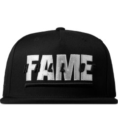 Hall of Fame Black Patriot Snapback Cap Picture