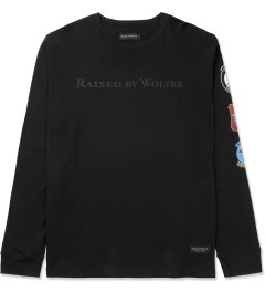 Raised by Wolves Black Wolfy L/S T-Shirt Picture