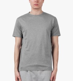 SUNSPEL Charcoal S/S Crewneck T-Shirt Model Picture