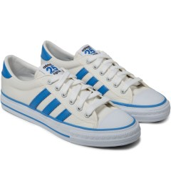 adidas Originals adidas Originals by NIGO White Shooting Star Low Top Sneakers Model Picture