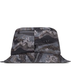 The Quiet Life Black Ocean Bucket Hat Model Picutre