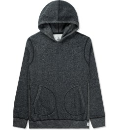 Reigning Champ Black/Natural RC-3258 Tiger Fleece L/S Pullover Hoodie Picture