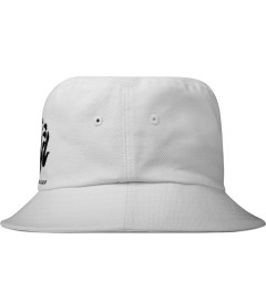 Billionaire Boys Club White Skoloct OG Logo Bucket Hat Model Picture