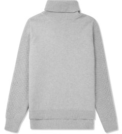 ami Grey Turtleneck Knitted Sweater Picture