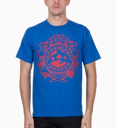 Odd Future Royal Blue Year of The Dolphin T-Shirt Model Picutre