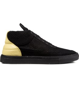 Filling Pieces Black Dragon/Black Speckle Sole Mid Top Sneakers Picture