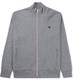 Undefeated Heather Grey Double Knit Full Zip Jacket Picture