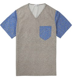 Carven Grey printed Poplin T-Shirt Picture