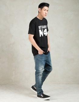 Stussy Black No. 4 T-Shirt Picture