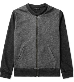Commune De Paris Marl Black Ferdinand Zipper Jacket Picutre