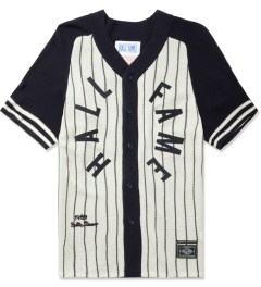 Hall of Fame Navy Pinstripe Jersey Picture
