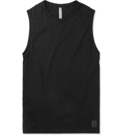 SILENT Damir Doma Black Tosyl Sleeveless T-Shirt Picture