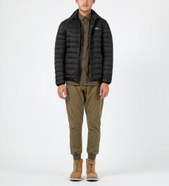 Penfield Black Naklin LW Packable Tech Down Shirt Model Picture